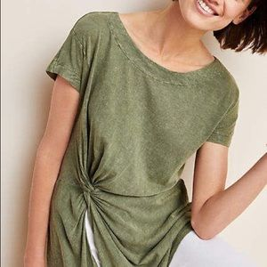 Anthropologie Jolie Knotted Tunic